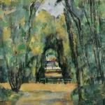 L'Allée à Chantilly, 1888, 81x65cm, NR615, Londres, National Gallery