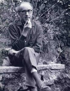 Léo Marchutz vers 1970 ( cliché Marchutz)