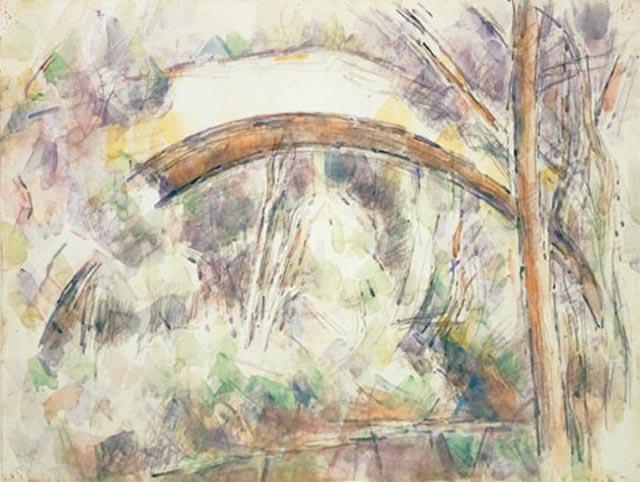 Le Pont des trois Sautets 1906 musée de Cincinnati