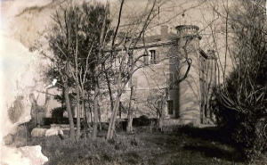 fig.2 : photo ancienne de la bastide