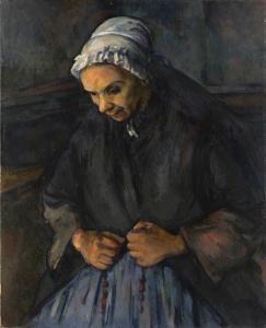 La Vieille au Chapelet, 1895-96, 85x65cm, NR808, LOndres National Gallery