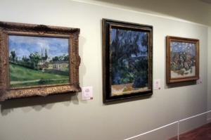 Paysages de Cezanne dans l'exposition