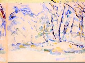 Sous-bois, 1895-1900, RW440