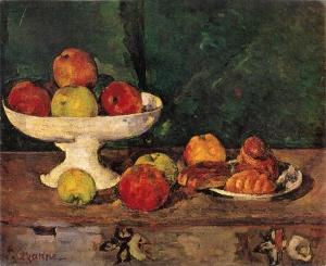 Pommes et gateaux, 1877-79, 46x55cm, NR329,