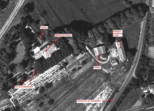 Fig. 6. Photo aérienne de L'Ensoleillée en 1960
