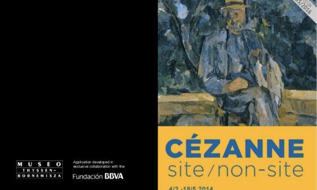 Cezanne, Site/non-site (musée Thyssen, Madrid)
