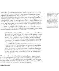 texte de Préface de Philippe Cezanne (suite et fin