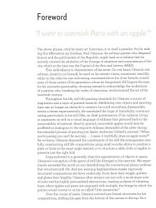 texte de Philipppe Cezanne, Président d'honneur de la Société Cezanne , en Préface dua Catalogue
