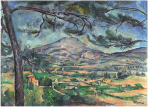 Fig 27. R598 et Fig 36 ter . R599 La Montagne Sainte-Victoire au grand pin c87