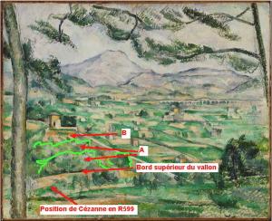 40bis Position de Cézanne pour R599