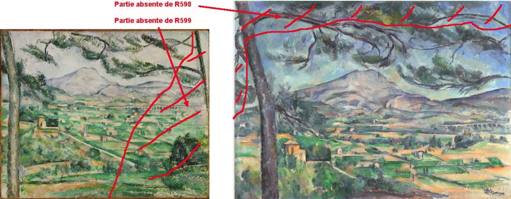 Fig. 41 . L'encadrement par les deux grands pins