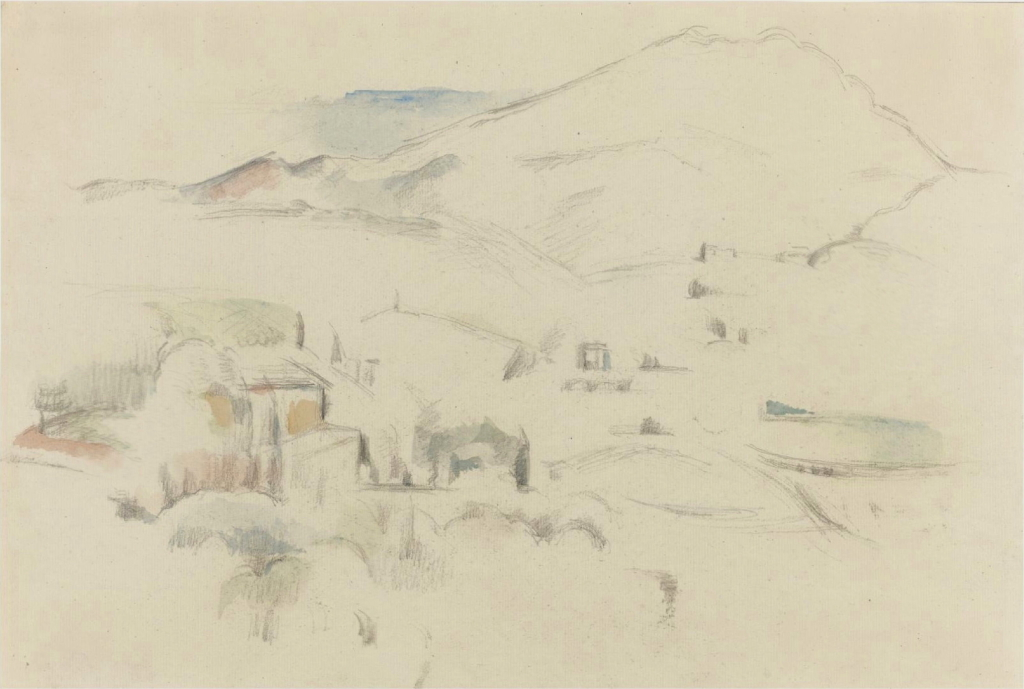 Fig. 53 . RW238 La Montagne Sainte-Victoire c85