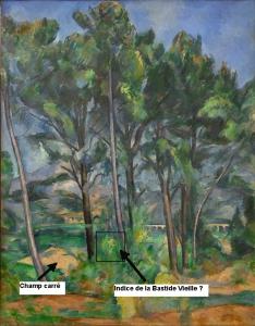 Fig. 65. Cézanne au pied du pilône actuel ?