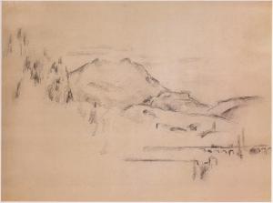 Fig. 69 . C0897 La Montagne Sainte-Victoire 83-86