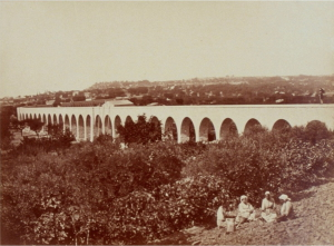 Fig. 28. Branche nord du pont-aqueduc de Calèche (cliché Gondran)
