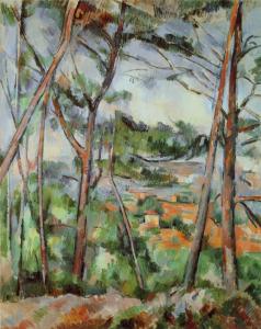 R758 Paysage des environs d'Aix (la plaine de l'Arc) 92-95