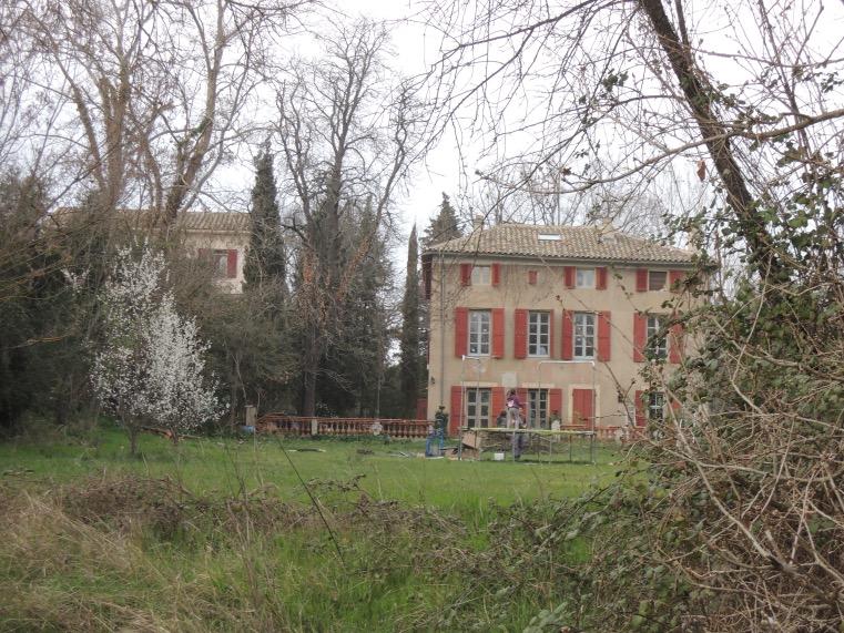 Localisation de « Arbres et maisons »
