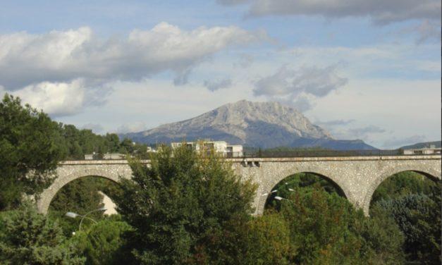 Le Viaduc dans la plaine de l'Arc II (FWN273-R698)