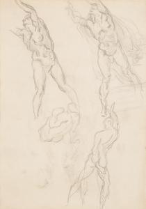 La Résurrection, vers 1867, 23 x 17 cm, C0172