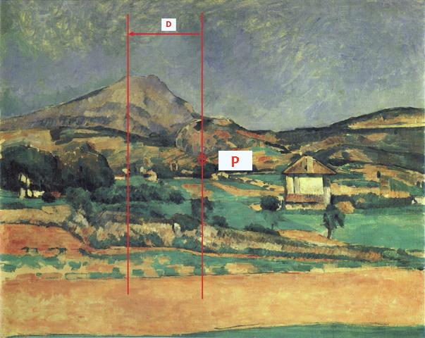 Fig. 12. R398 La Montagne Sainte-Victoire vue du chemin de Valcros 78-79