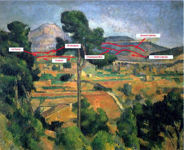 Fig. 17. R512 La Montagne Sainte-Victoire vue en haut de Montbriand I c82