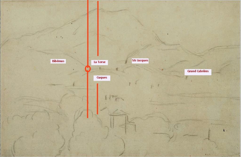 Fig. 25. C1158 La Montagne Sainte-Victoire vue de Bellevue 92-95