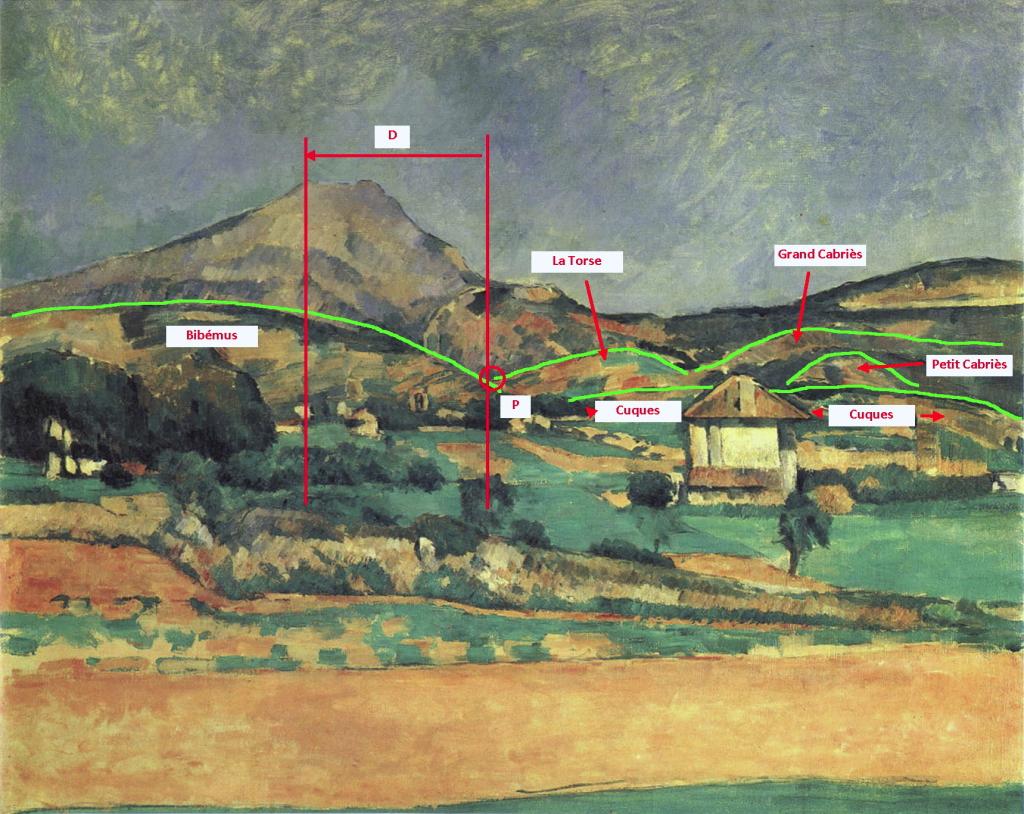 Fig. 26. R398 La Montagne Sainte-Victoire vue du chemin de Valcros 78-79
