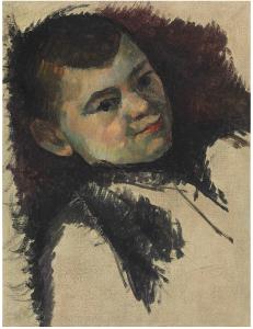 R579 Portrait de Paul Cézanne, fils de l'artiste c85