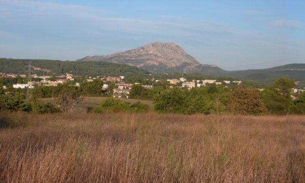Les «Montagne Sainte-Victoire» du plateau de Valcros et les collines de l'est d'Aix-en-Provence – I