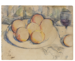 Lot 6 -Cezanne-Oranges