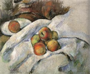 R560 Pommes sur un linge c85
