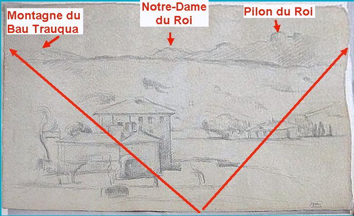 Fig. 6. La ligne d'horizon du dessin