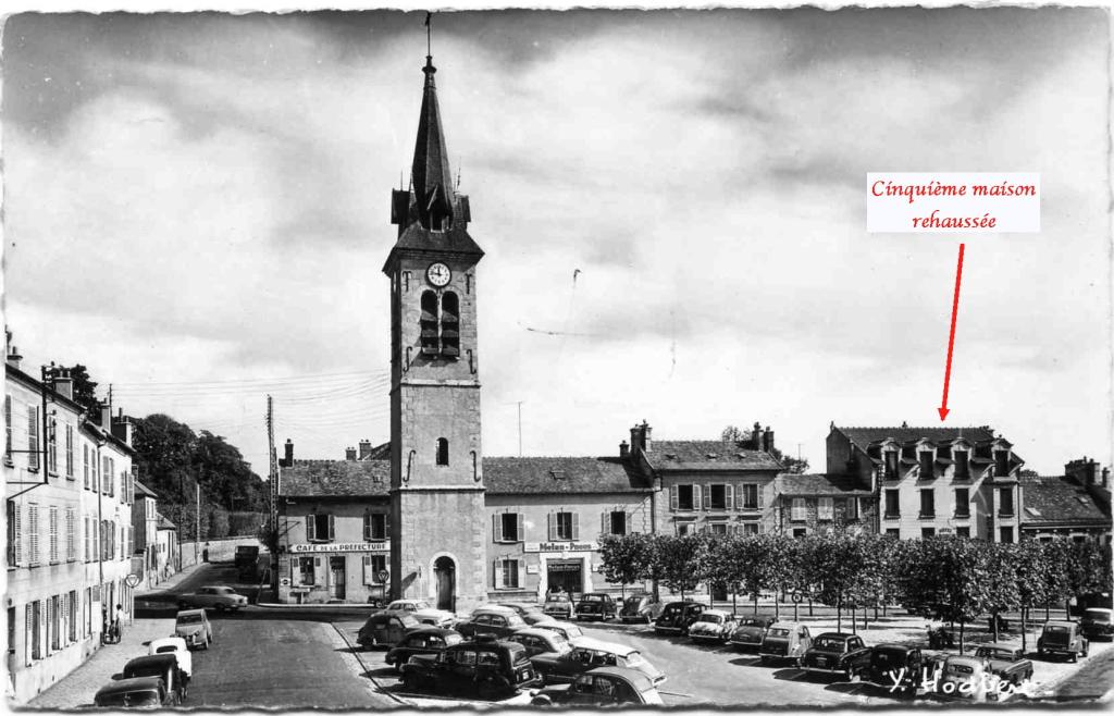 Fig. 16. Vue vers l'église Saint-Aspais depuis le clocher Saint-Barthélémy (1904)