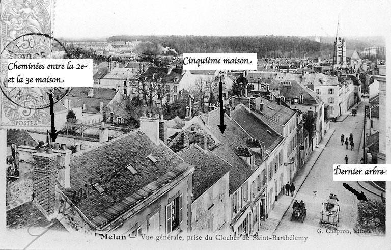 Fig. 17. Rehaussement ultérieur de la 5e maison (1930)
