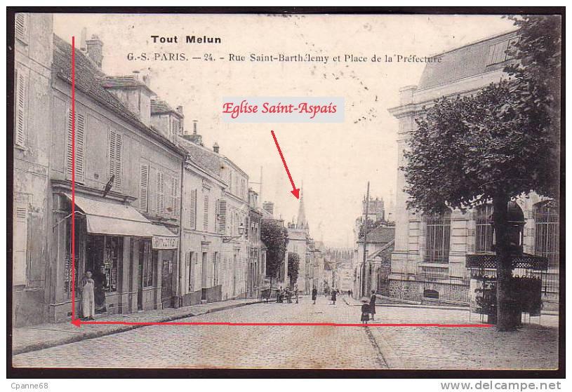 Fig. 18. Vue vers l'église Saint-Aspais