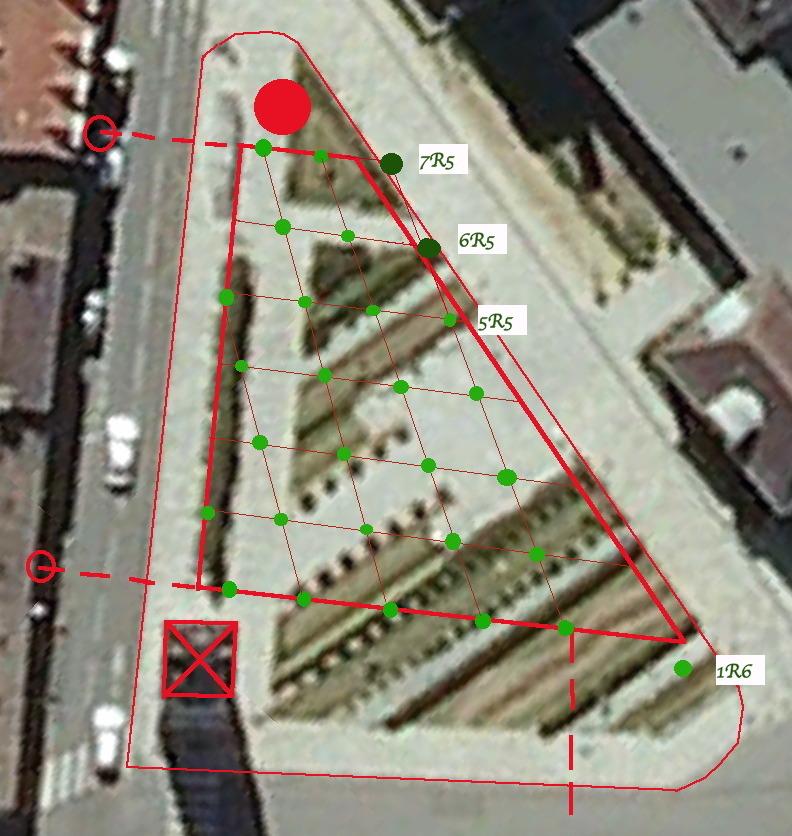 Fig. 40. Ajout de deux arbres rangée 5
