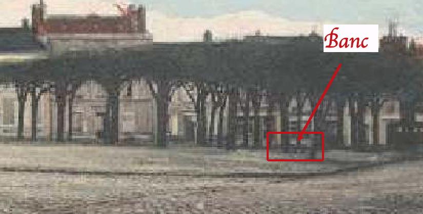 Fig. 44. Position du banc