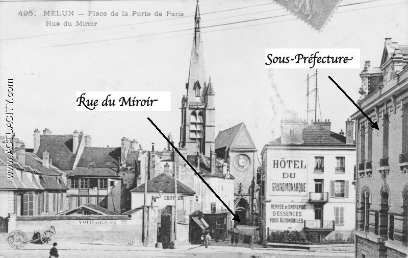 Fig. 5. Hypothèse 1 - vers 1904