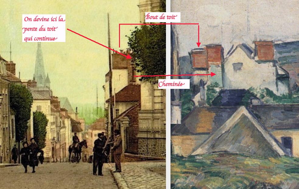 Fig. 51. Détail de la Fig. 47 et correspondance avec le tableau