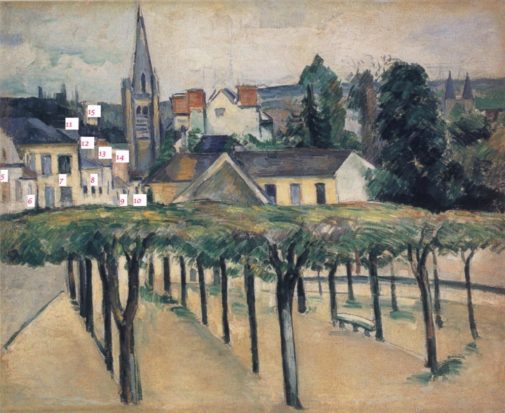 Fig. 62. Les maisons de la rue Saint-Barthélémy