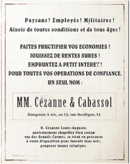 Pub Cezanne et Cabassol