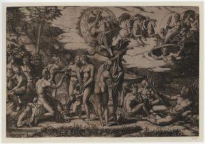 Fig. 14. 1515-1516 Marcantonio Raimondi, d'après Raphaël. Musée d'Orsay