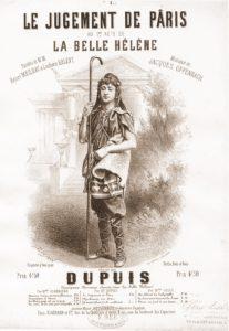 Fig. 37. 1864 Livret de La Belle Hélène d'Offenbach