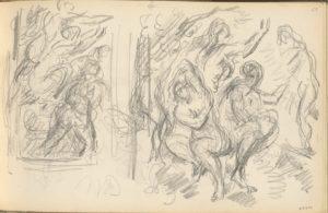 Fig. 45. C0658 Deux études pour le Jugement de Pâris ou le Berger amoureux 83-86