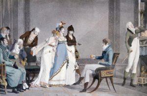 Fig. 66. 1801 Philibert Louis Debucourt - L'Orange, ou le moderne Jugement de Paris