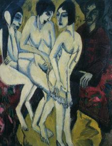 Fig. 81. 1912 Ernst Ludwig Kirchner, Ludwigshafen, Wilhelm Hack Museum