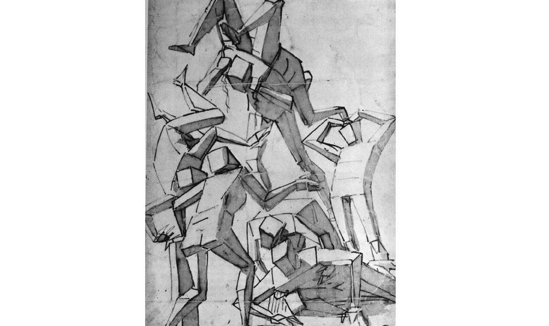 Le véritable ancêtre du cubisme… :-)