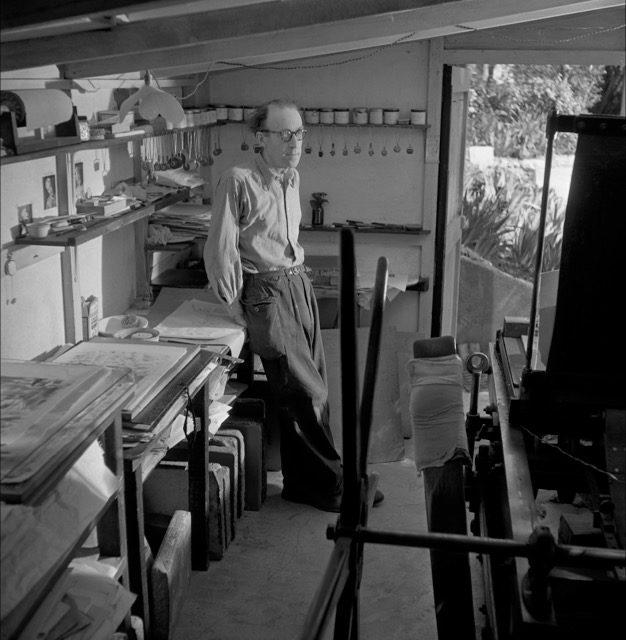 Une exposition d'œuvres de Léo Marchutz au Camp des Milles