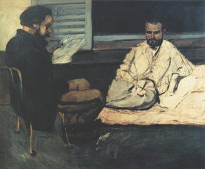 Paul Alexis lisant à Émile Zola 69-70