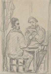La Lecture chez Zola 1867-1869